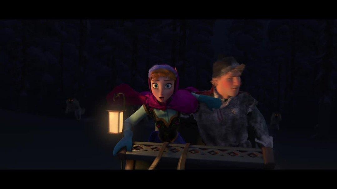 "Frozen - Clip ""Wolf Chase"""