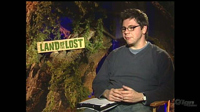 Land of the Lost Movie Interview - Jorma Taccone