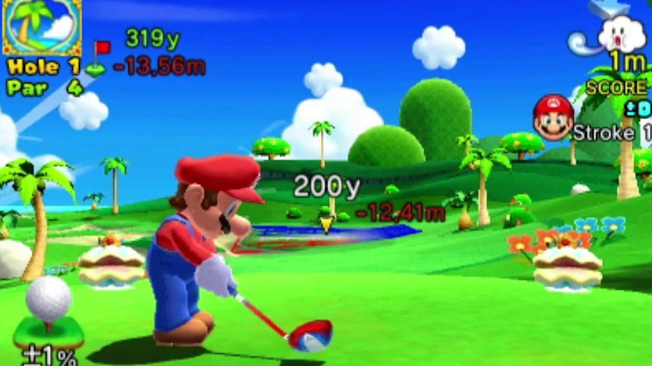 Mario Golf World Tour Nintendo Direct Footage