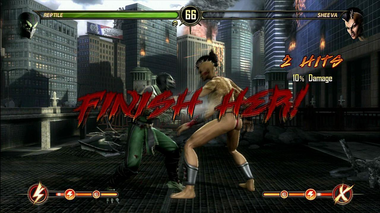 Mortal Kombat Reptile Fatalities