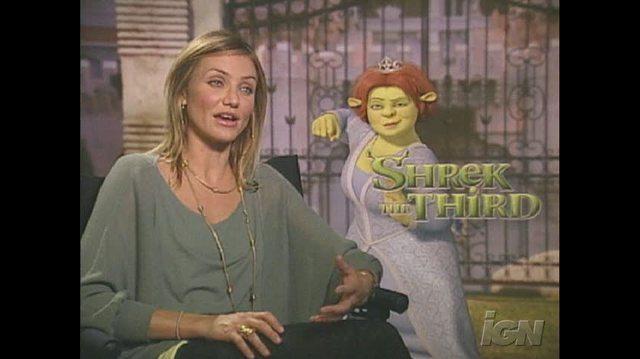 Shrek the Third Movie Interview - Cameron Diaz