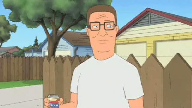 The Simpsons TV Clip - Hank Hill On The Simpsons