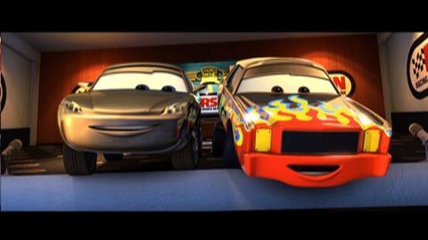 Cars Blu-ray Combo Pack (2006) - Clip Last Lap