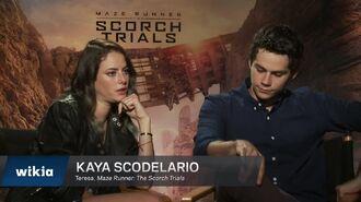 Maze Runner The Scorch Trials Cast Interviews