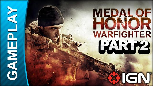 Medal of Honor Warfighter - Beta Multiplayer Match Part 2 - Gameplay