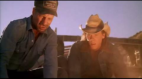 Tremors - finding buried car