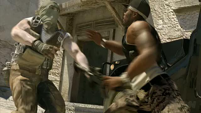 50 Cent Blood on the Sand Xbox 360 Trailer - Owned