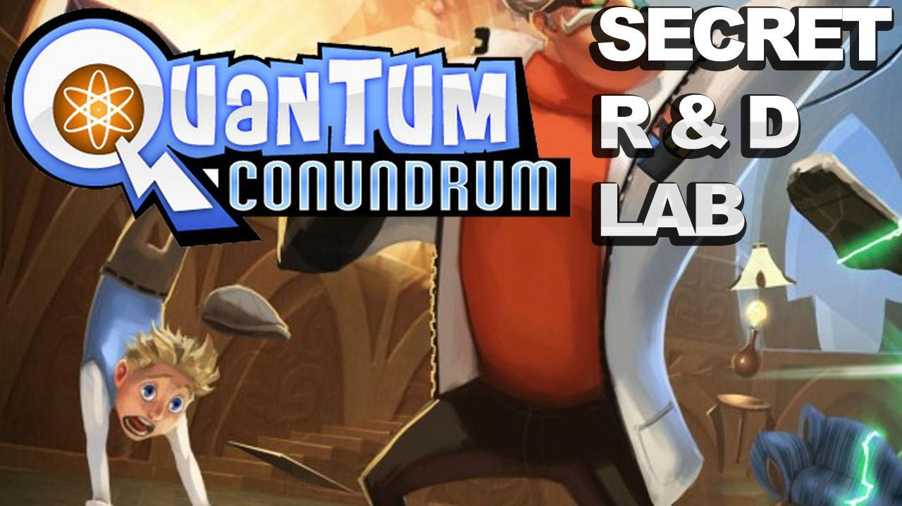 Quantum Conundrum Secret Room - R&D Lab Gameplay Walkthrough