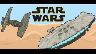 Star Wars The Force Awakens 8-bit Trailer by Mauri Helme