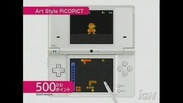Art Style Pictobits Nintendo DS Gameplay