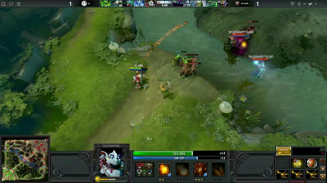 Gamescom DOTA 2 Illusion Gameplay
