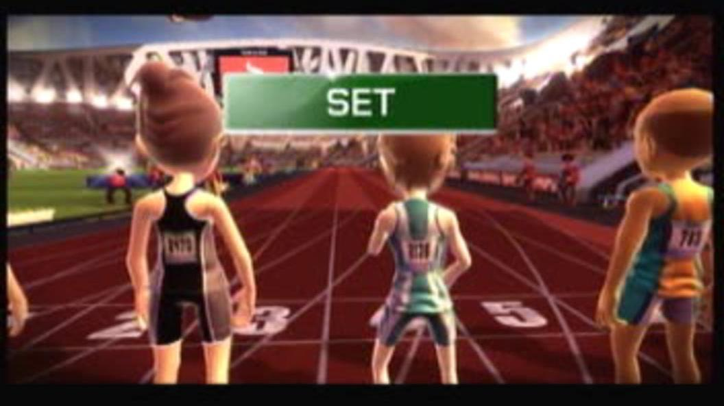 Kinect Sports Video Tip - Sprinting