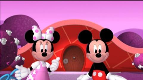 Mickey Mouse Clubhouse Mickey's Adventures in Wonderland (2009) - Clip Through the door, pre
