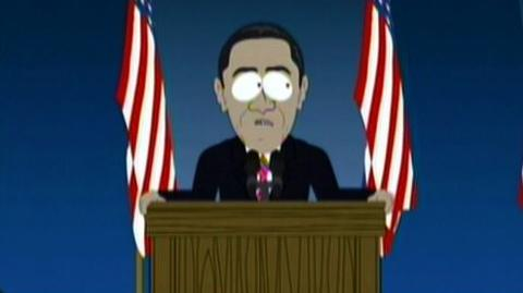 South Park The Complete Twelfth Season (2009) - Clip Yeah Obama!