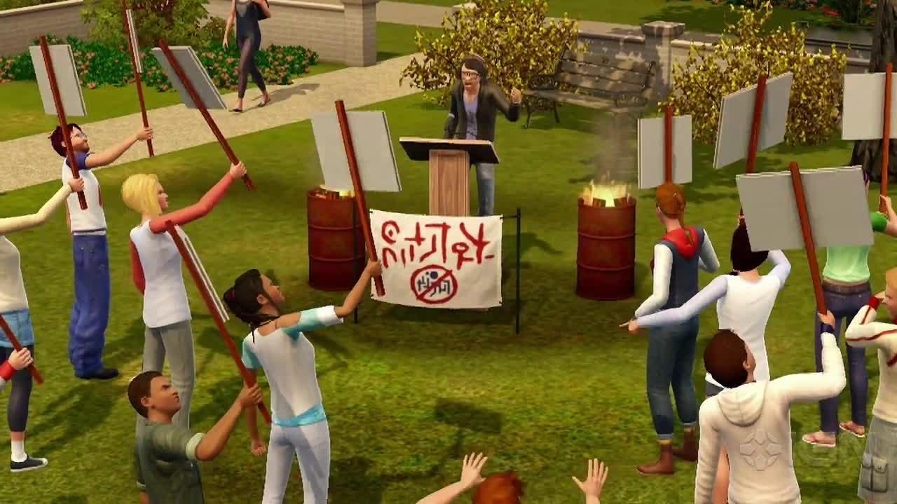 The Sims 3 University Life Announcement Trailer