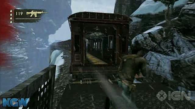 Uncharted 2 Among Thieves Video Guide-Walkthrough - Ch. 14 Tunnel Vision - Part 3
