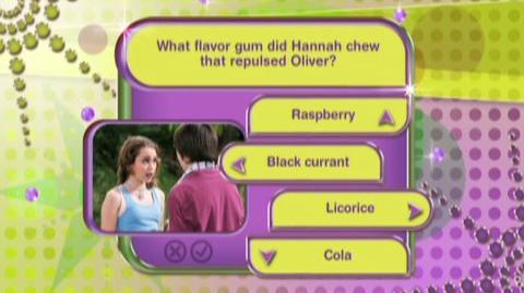Hannah Montana High School Musical DVD Games (VG) (2008) - Clip Hannah Montana Game Play