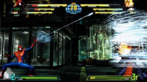 Marvel vs. Capcom 3 Fate of Two Worlds (VG) (2011) - Spider-Man trailer