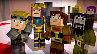 Minecraft Story Mode Official Episode 7 Access Denied Trailer