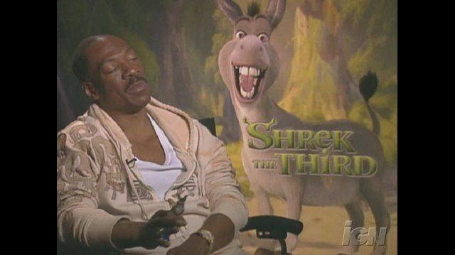 Shrek the Third Movie Interview - Eddie Murphy