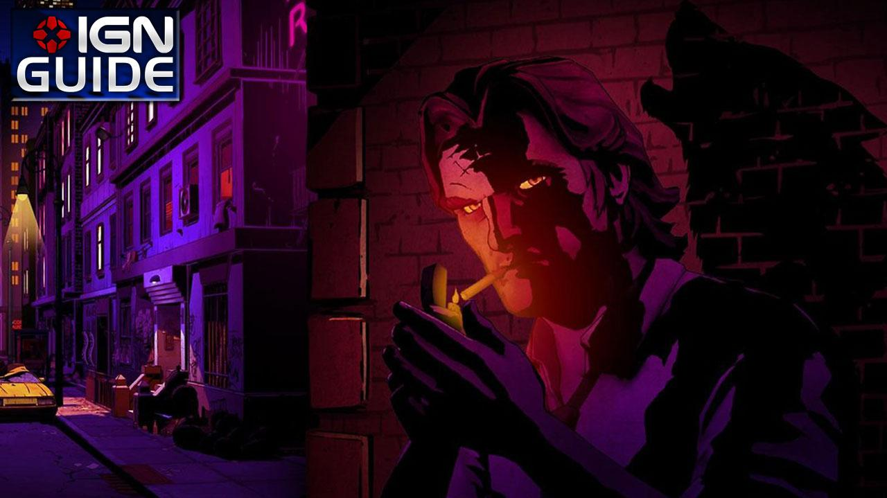 The Wolf Among Us Walkthrough - Episode 1; Chapter 04 Choices