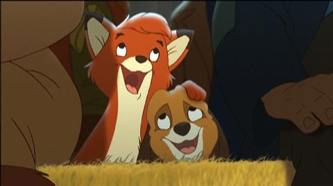 The Fox and the Hound 2 Special Edition (2006) - Clip Joining the Band