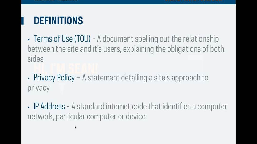 Online Privacy Overview