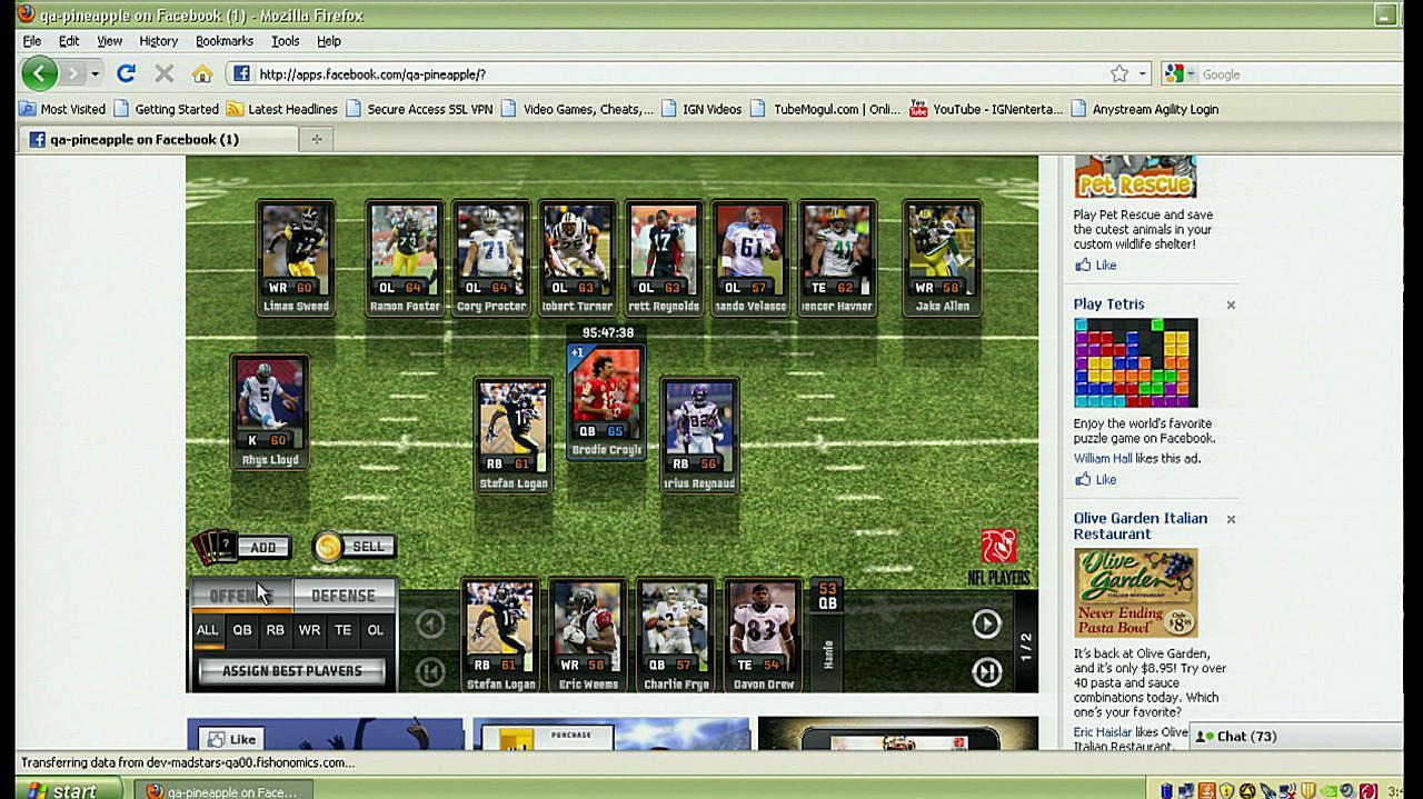 Madden NFL Superstars Gameplay Footage
