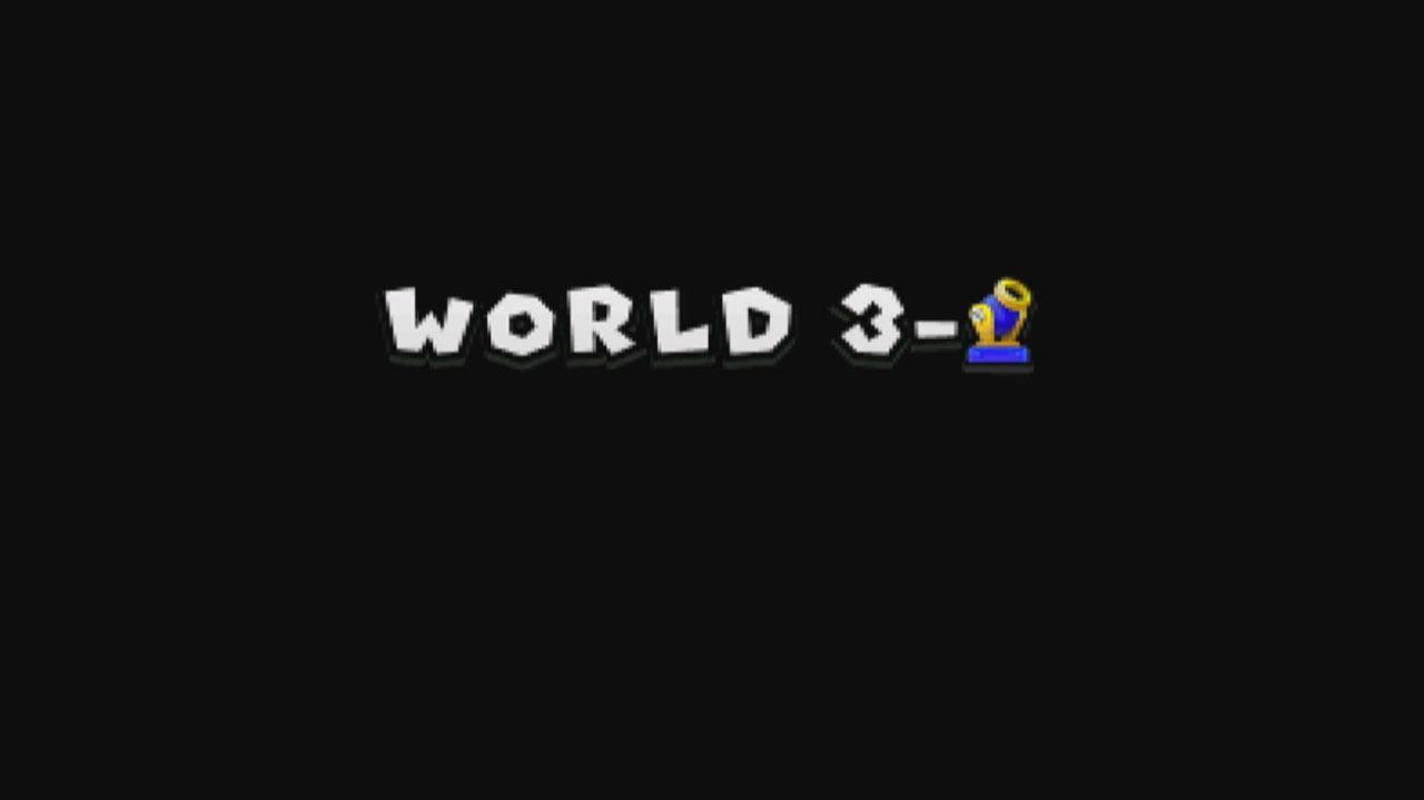 New Super Mario Bros. 2 - Guide - World 3-Cannon