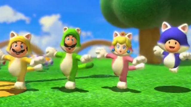 Super Mario 3D World E3 2013 Trailer