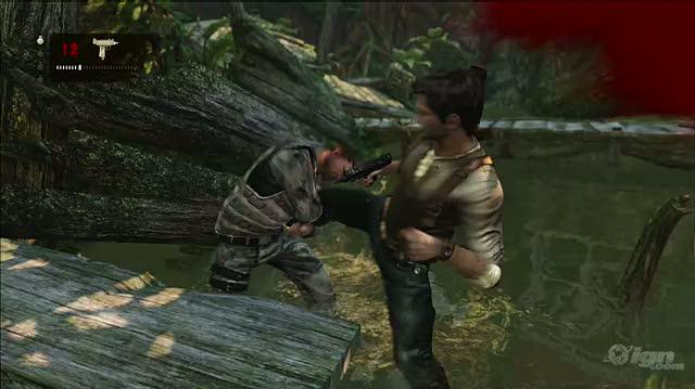 Uncharted 2 Among Thieves PlayStation 3 Gameplay - Fists Of Steel