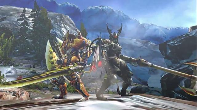 Monster Hunter 4 Gameplay Trailer