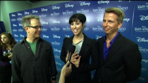 """Wreck-It Ralph (2012) - Interview """"Rich Moore, Sarah Silverman and Jack McBrayer on D23"""""""