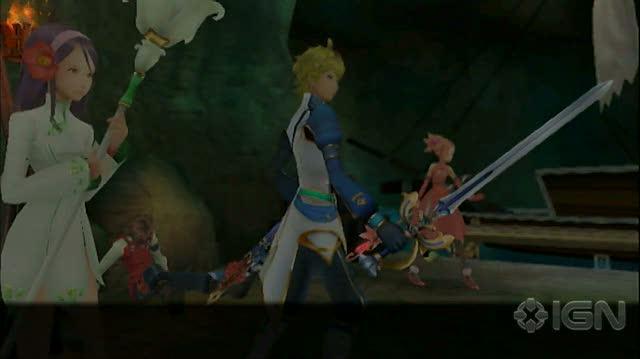 Arc Rise Fantasia Wii - Cut Scene Video