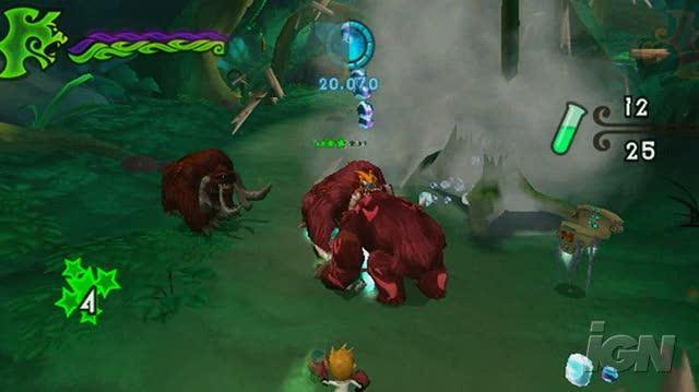 Crash of the Titans Nintendo Wii Gameplay - Melee Combat