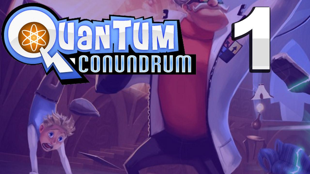Quantum Conundrum Hall Of Wonders Gameplay Walkthrough (Part 1 51)