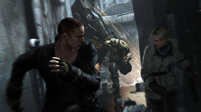 Resident Evil 6 Siege DLC Trailer