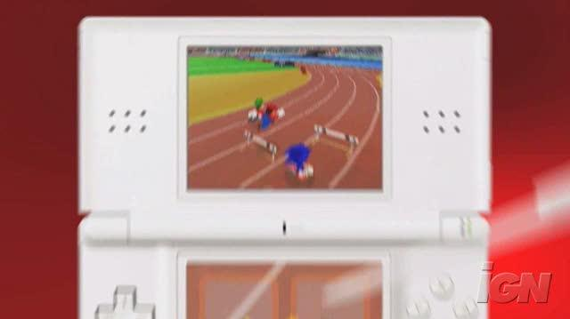 Mario & Sonic at the Olympic Games Nintendo DS Trailer - Trailer