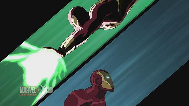 Ultimate Spider-Man - Iron Man vs