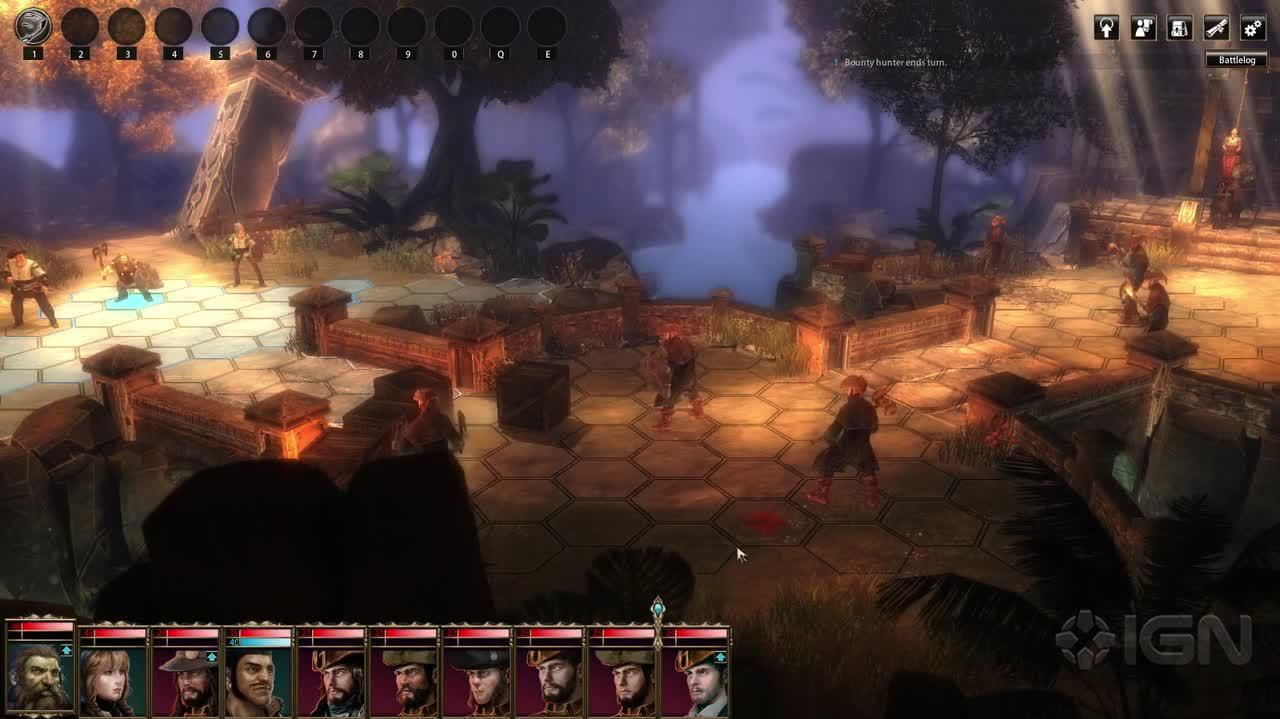 Blackguards gameplay - combat
