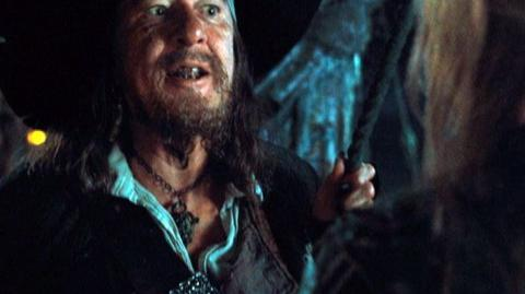 Pirates of the Caribbean At World's End (2007) - Clip Off the Edge 2