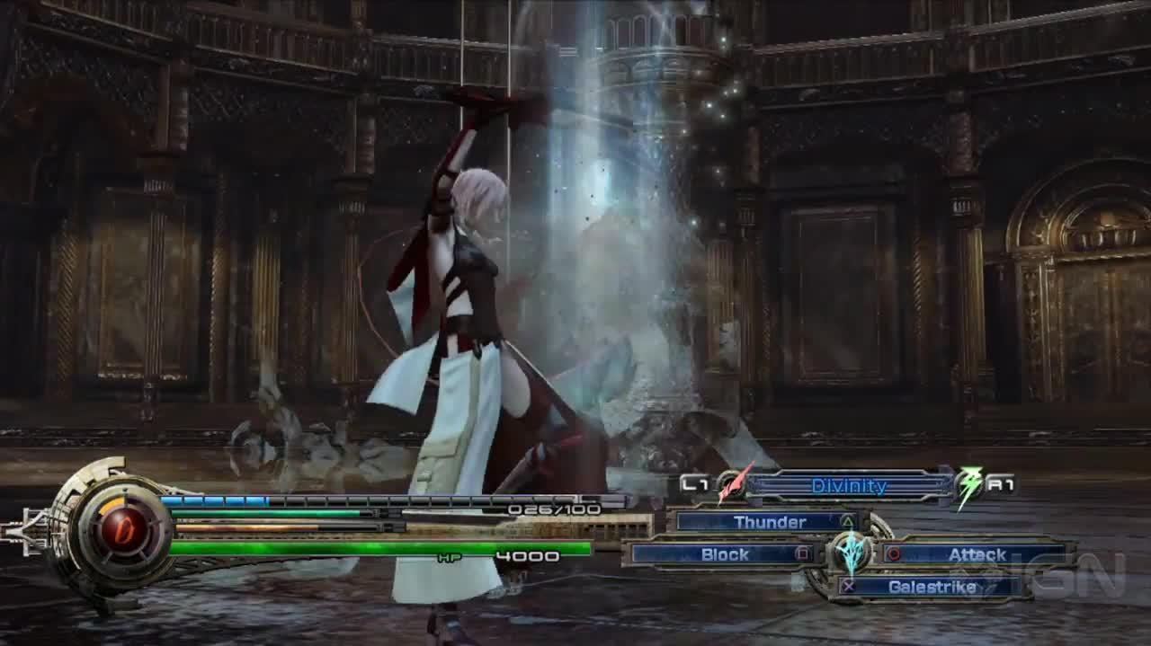 Final Fantasy XIII Lightning Returns Gameplay Demo - IGN Live - E3 2013