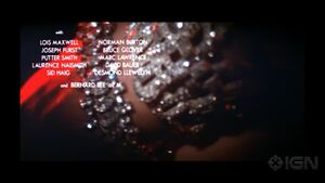 Diamonds Are Forever Opening Credits
