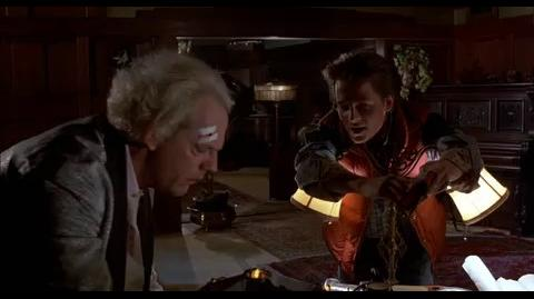 Back to the Future - Marty proves he's from the future