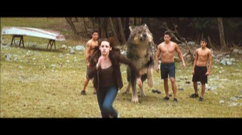 The Twilight Saga New Moon (2009) - Clip Jacob's transformation