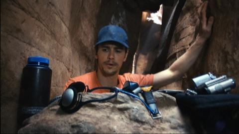 127 Hours (2010) - Clip What's In Aron's Bag