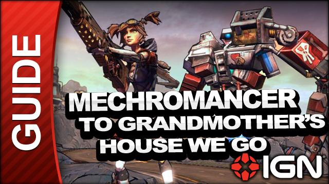 Borderlands 2 Mechromancer Walkthrough - To Grandmother's House We Go - Side Mission