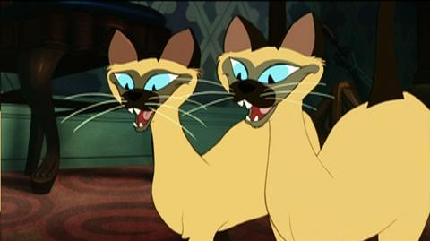 Lady and the Tramp Diamond Edition (1955) - Clip Siamese Cat Song