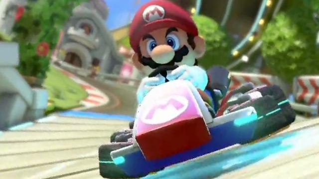 Mario Kart 8 - Mario Offscreen Gameplay E3 2013