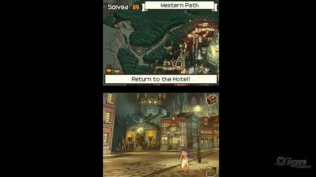 Professor Layton and The Diabolical Box Video Review - Professor Layton Review